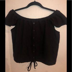 Madewell Off-Shoulder Shirt